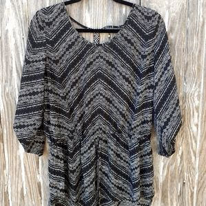 Maurices 0x blouse, 3/4 sleeve, lightweight top